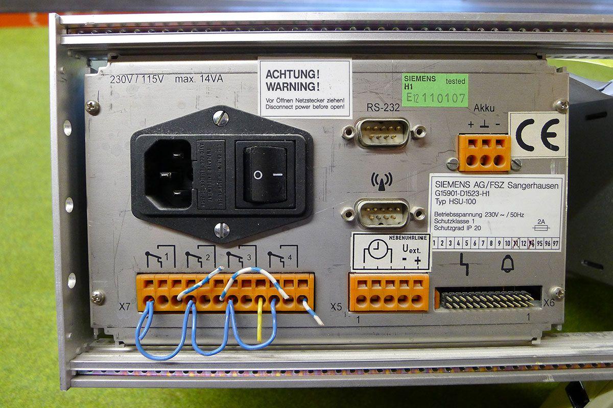 TM Engineering + Services Austria GmbH | Siemens Hauptschaltuhr